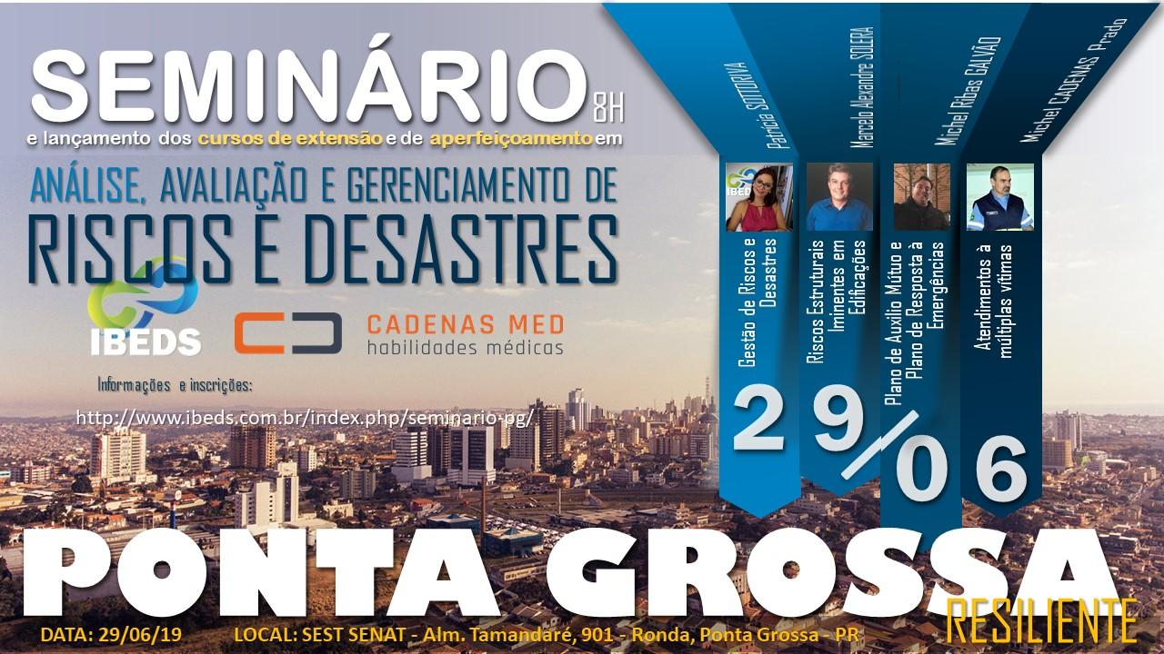 seminario2 29jun - Seminario Ponta Grossa