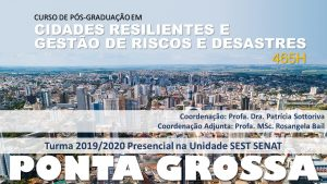 CRIS PGR1 300x169 - Agenda de Cursos
